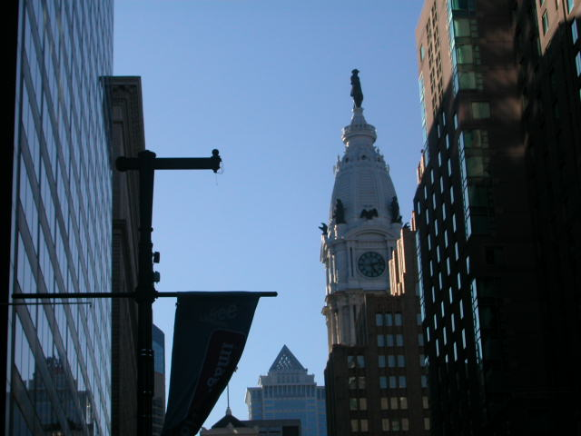 City Hall with William Penn